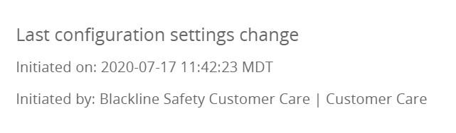 Configuration Profile Update July 17 2020