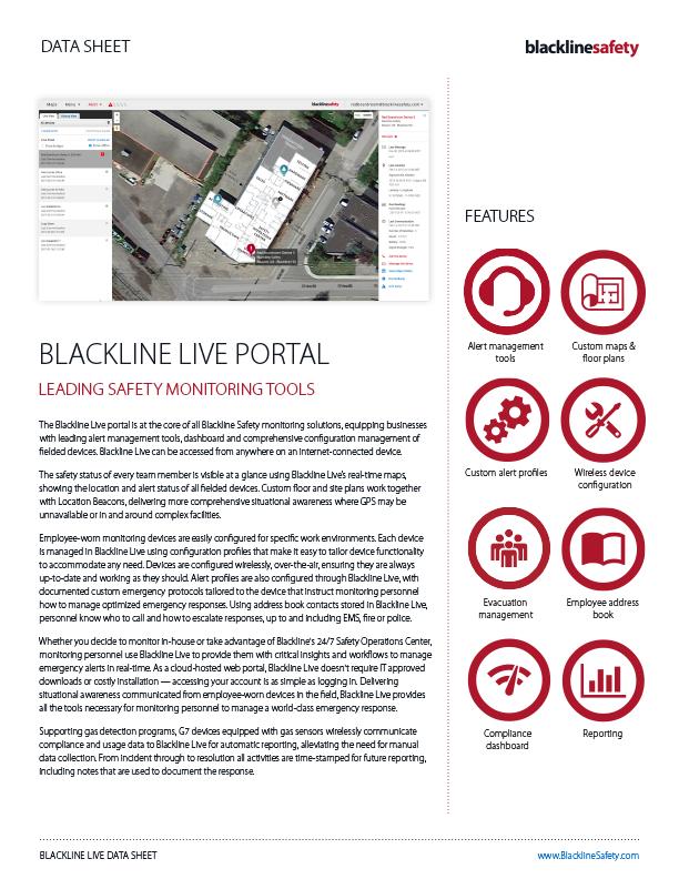 Blackline Live Datasheet