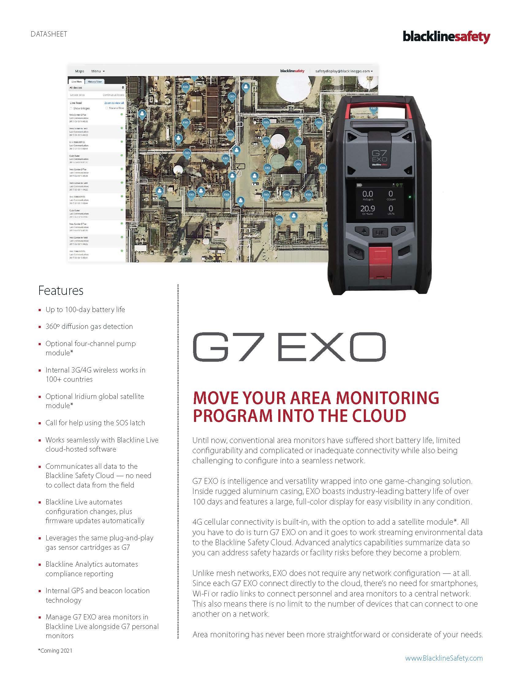 2020-08-19 Blackline Safety G7 Exo datasheet Cover