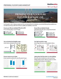 Floor Plan Handout