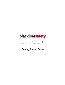 G7 Dock Getting Started Guide
