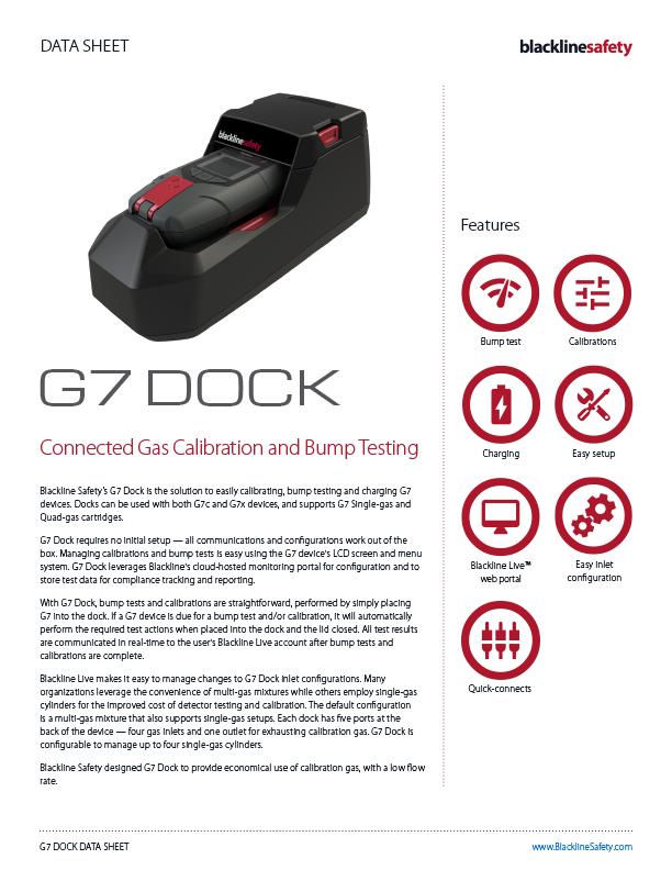 G7 Dock Datsheet