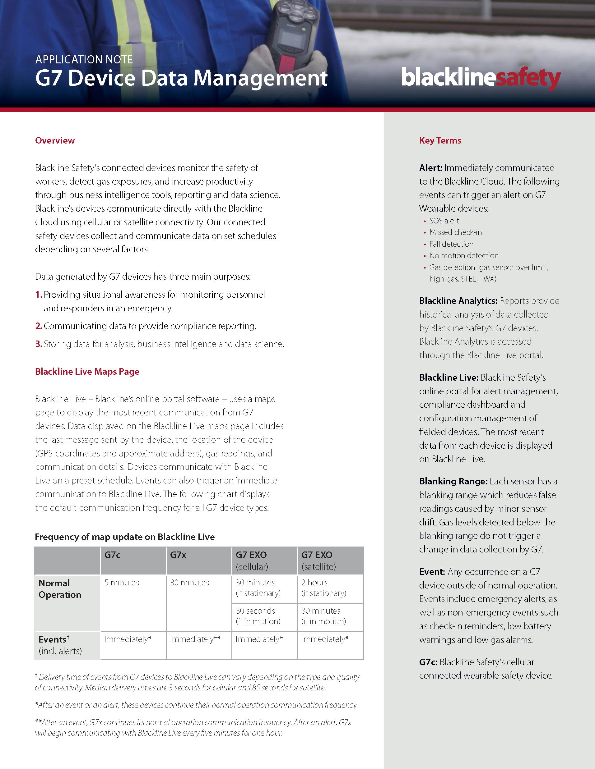 G7 Data Device Management